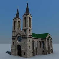 3ds kaarli church building