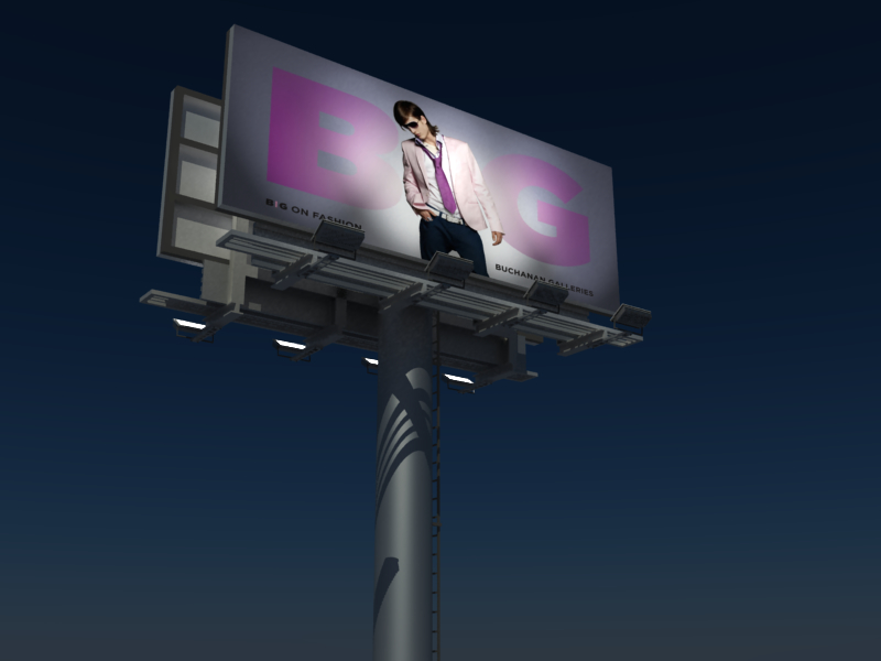 maya 64 sheet billboard advertisement