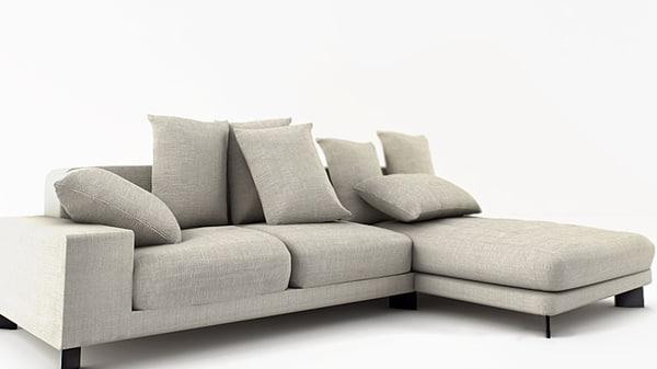 bensen neo sofa 3d max