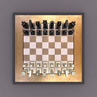 blend cubic chess set