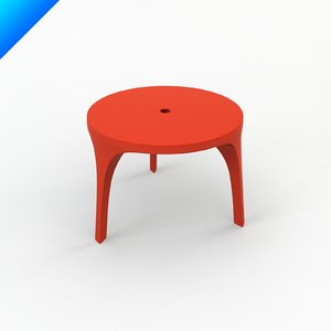 victoria albert table design 3d model
