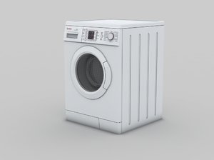 washing action 9 3d max