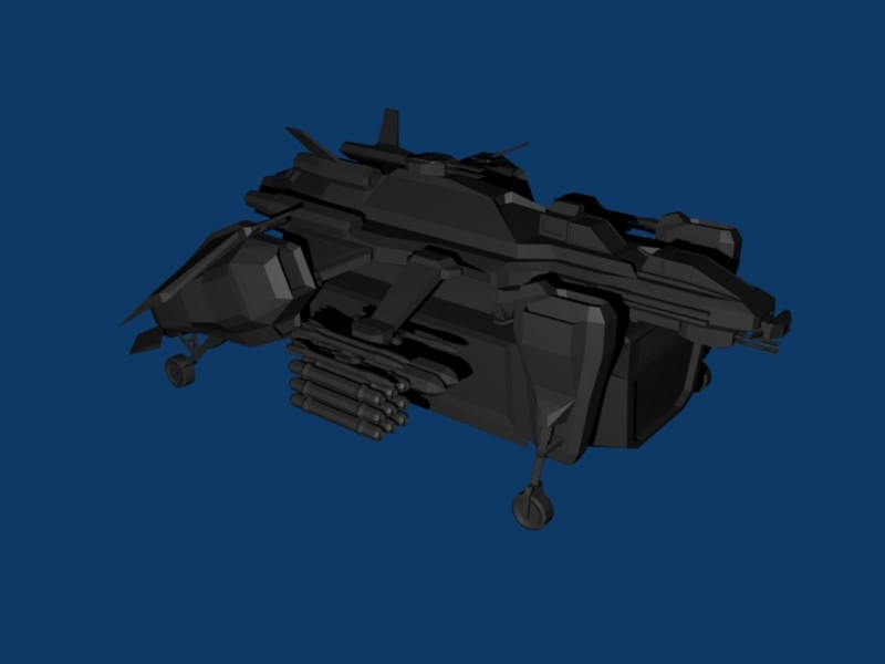 heavy dropship trooper 3ds free