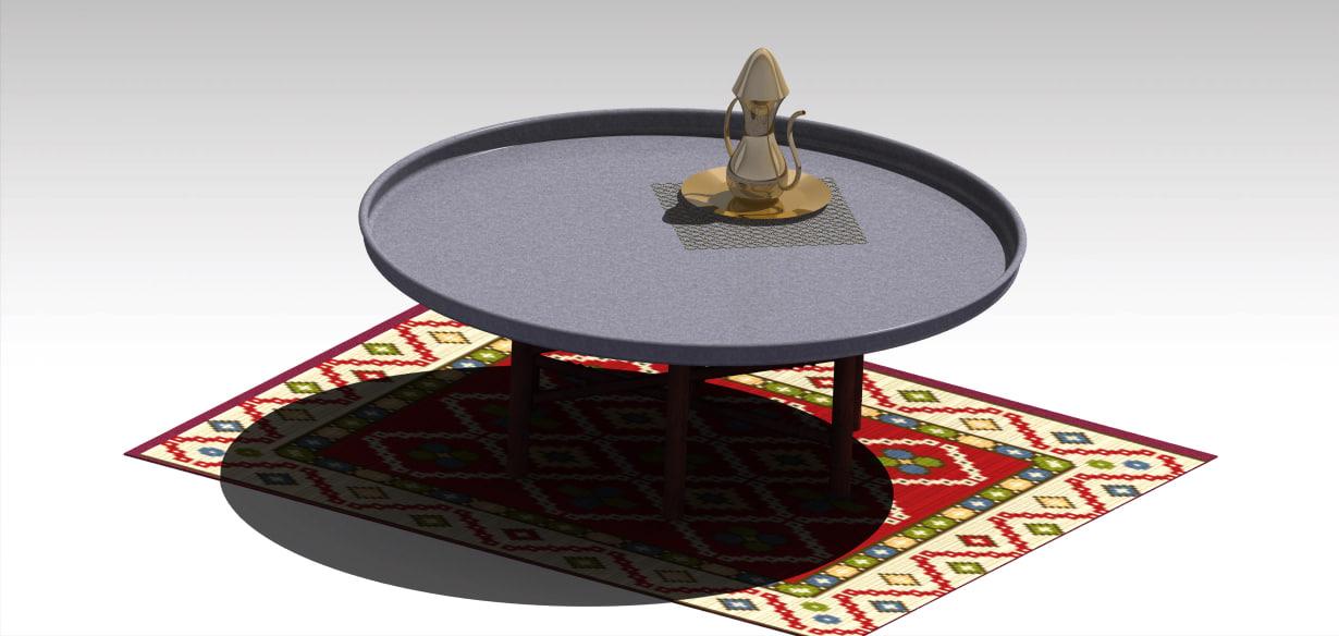 maya traditional eastern tableware