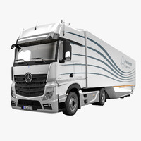 Mercedes Actros 2012 with Aero Trailer