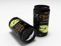 3d soup model