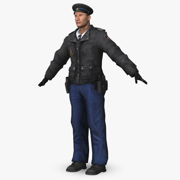 police dutch obj
