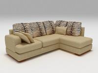 divan sofa 3d model