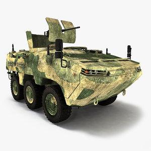 3d realistic arma 6x6 turkey