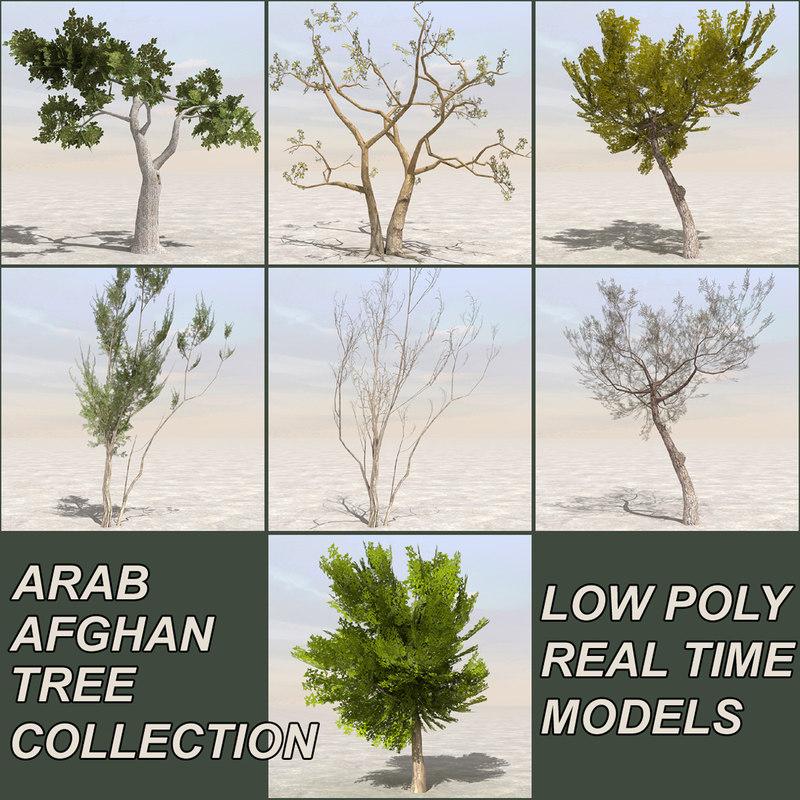 tree afghanistan c4d