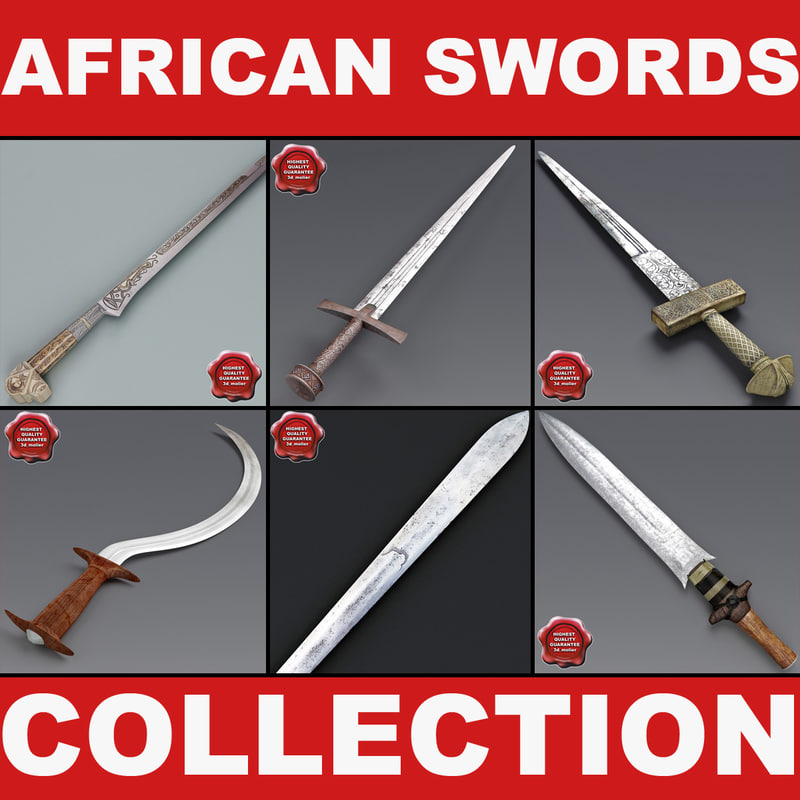 obj african swords 2
