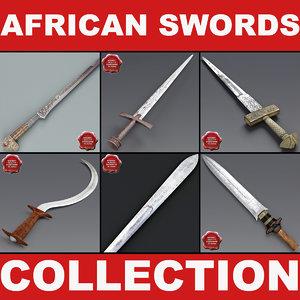 obj african swords 2