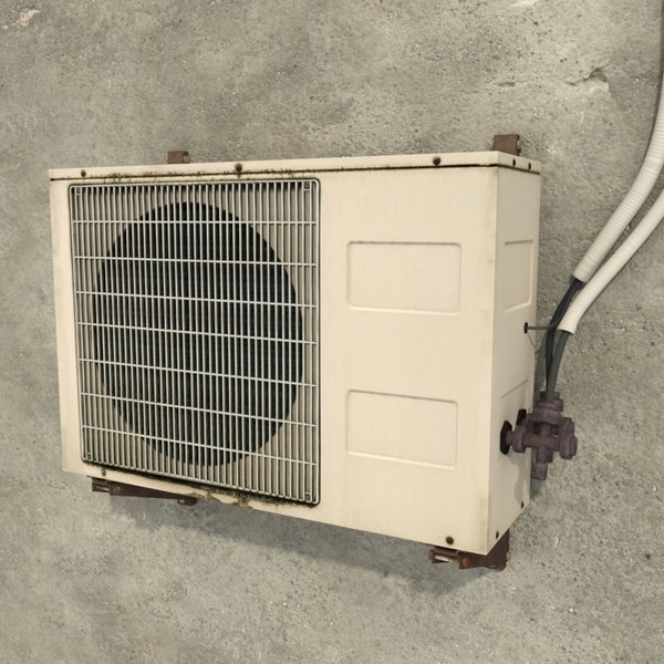 air condition 3d model