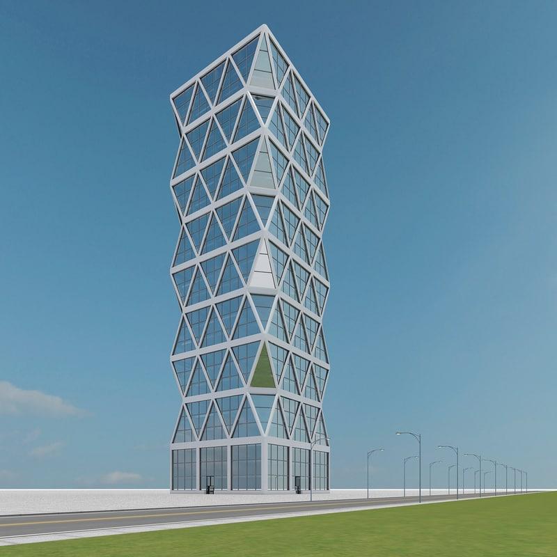 3d new skyscraper 39