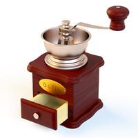 coffee grinder 3d max