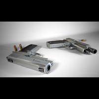 maya handgun firestar gameready