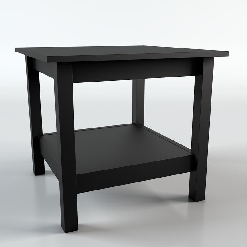 hemnes table 3d c4d