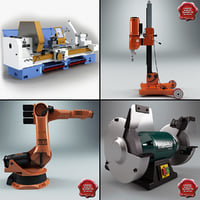 Industrial Machines Collection V3