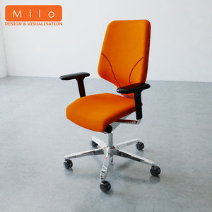3d orangebox g64 office chair