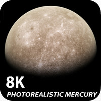 8K Photorealistic Mercury