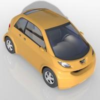 small concept car 3d max