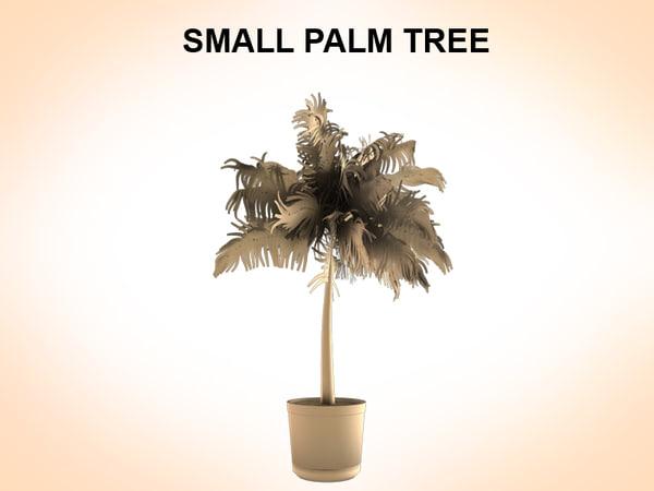 3dsmax palms plant