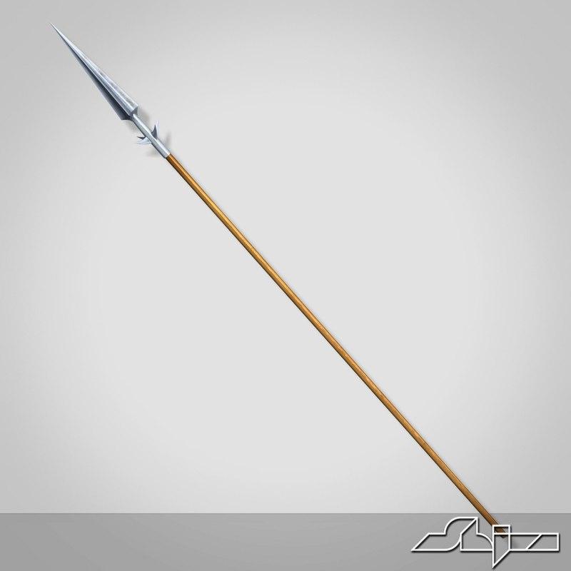 3dsmax spear
