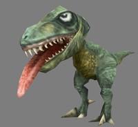 3d obj t rex