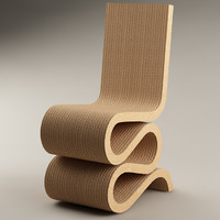 Chair_10_Frank Gehry Wiggle Side Chair