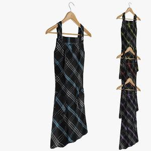 obj female dress hanger
