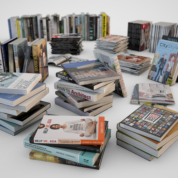 max books magazines
