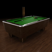 3d model pool table 8