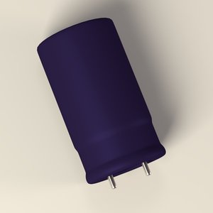 3d model capacitor