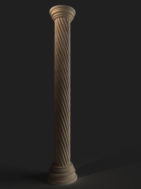 3ds column