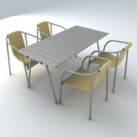 3ds max set furniture