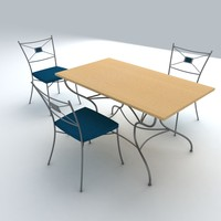 3d set furniture