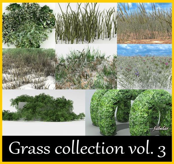 grass plant 3d max