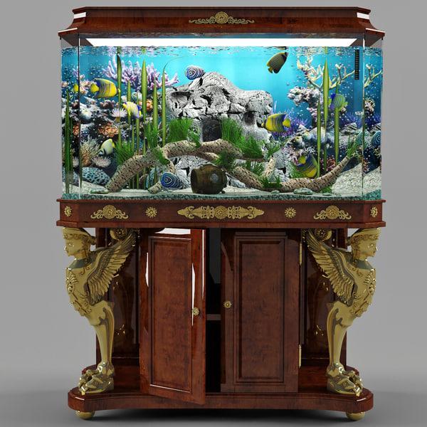 empire aquarium angels 3d max