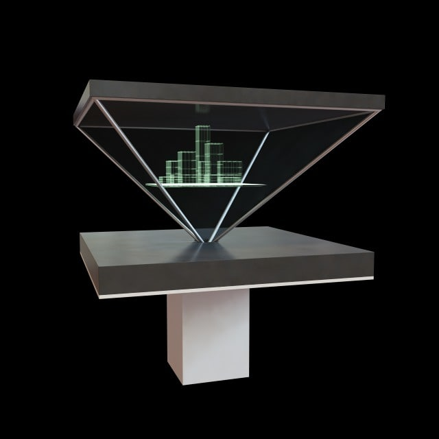 itzamna hologram 3d model