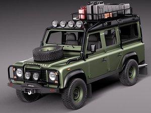 land rover landrover defender 3d model
