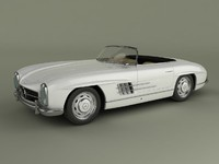 3ds mercedes 300sl convertible