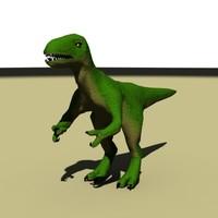 3d model of raptor