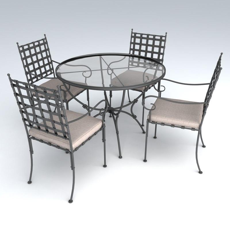 3d max set furniture