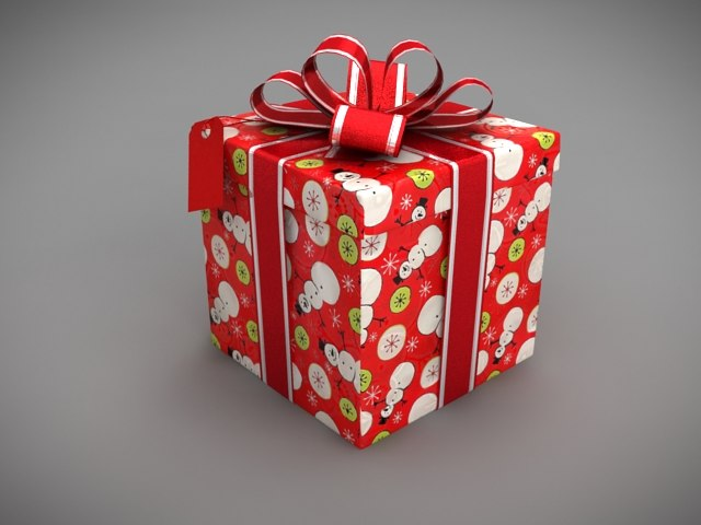 3ds max christmas present