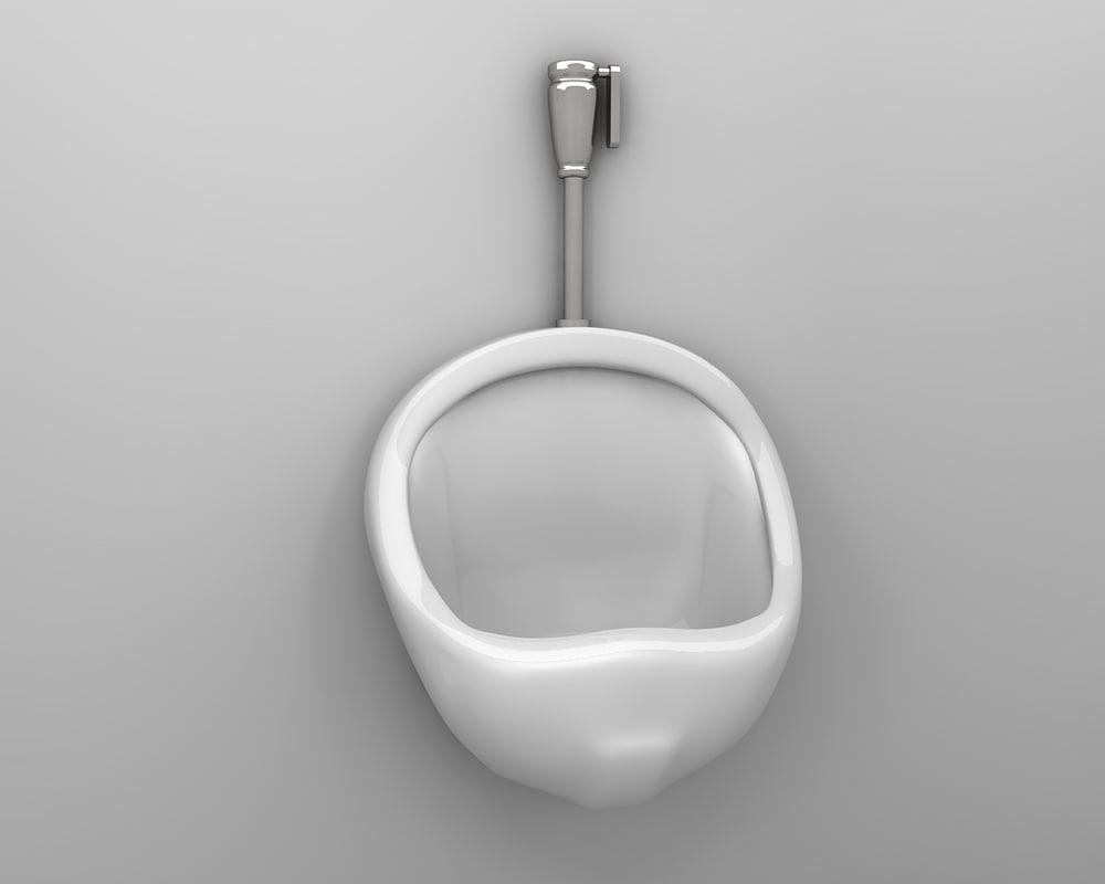 free obj model urinal