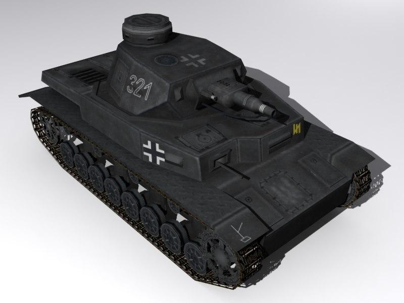 maya panzer iv tank