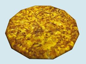 free max model spanish omelette