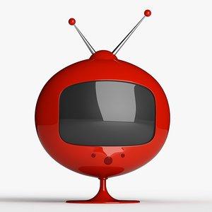 retro television 3ds