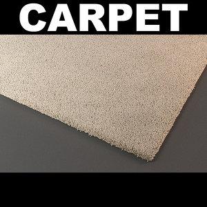 rug strands 3d model