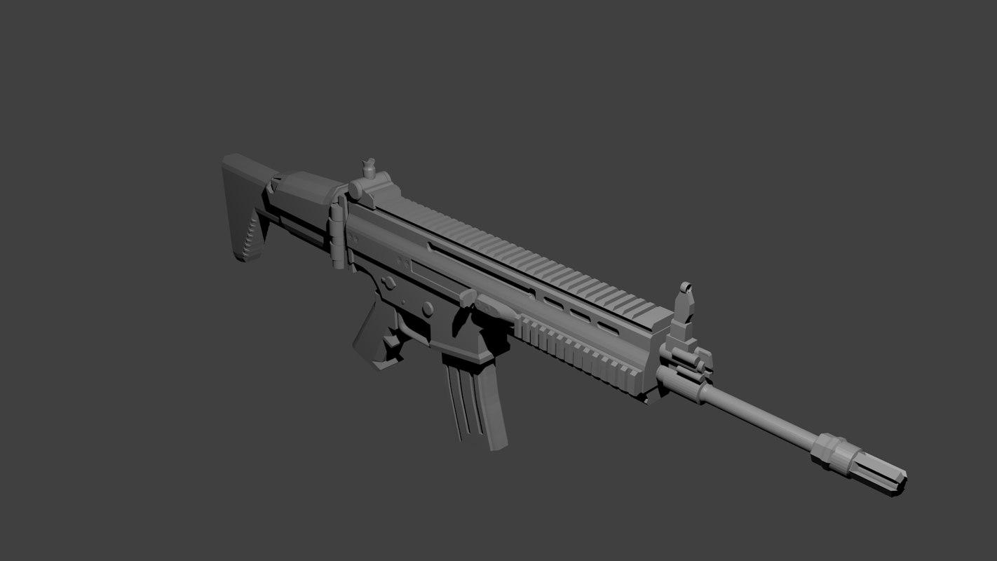 3d gun scar h